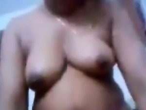 Thick And Busty Indian Pleasing Dick