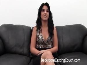 Hot Amateur First Anal on Casting Couch free