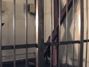 Mistress warden spanking prisoners bare ass