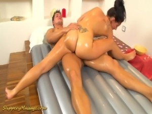 flexi slippery nuru massage gymnastic free