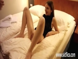 Teen slut double fisting and dildo penetration free