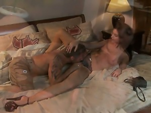 India Summer enjoys another great cumshot session