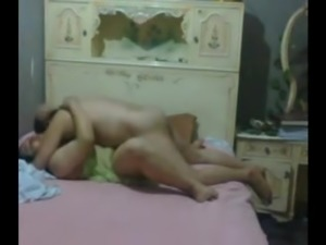 Arab Mature with Young Lover P2