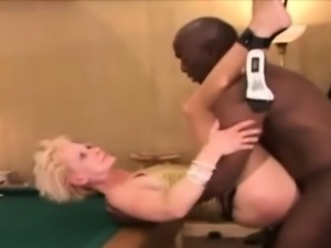 maxcuckold.com Wild Blonde Hard Fucked On Pool Table