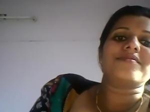 indian Nurse showing her Big Booobs