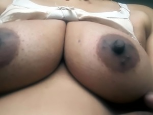 Desi hot beautiful bhabhi boob show