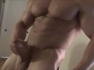 Muscle God Jerking at Home