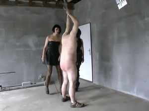 Female Czech domination merciless whipping part 2