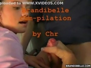 Brandi Belle compilation sperm