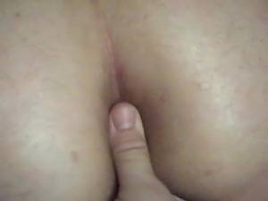 spanking a married white MILF BBW ass