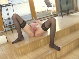 Mature beautiful mother with hungry vagina