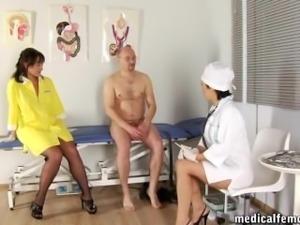 RUSSIAN MEDICAL FEMDOM HANDJOB-0035