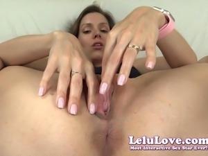 Lelu Love-Super Closeup Pussy Spreading Asshole Puckering
