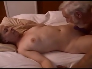 Mature couple having fun