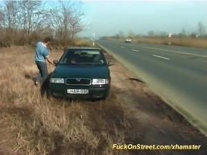 fuck on street