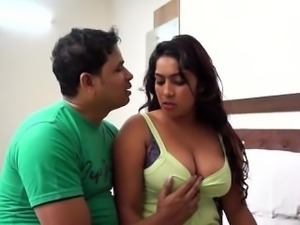 Indian Gorgeous Aunty Tempting Boy
