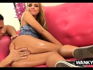 Sports Trainer Nails A Petite Teen Hottie