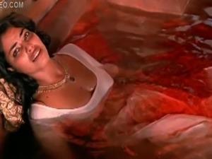 Hot Lesbian Moment Between Indian Babes Indira Varma and Sarita Choudhury