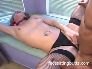 Huge cock fucking two pigs