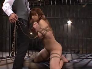 Hardcore bondage fetish action with kinky Asian sex bomb