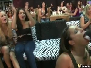 CFNM Dick Sucking Stripper Party
