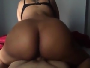 POV Interracial Fucking Black GF