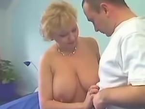 Sexy mature blonde fucking