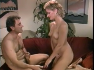 Cute classic blonde sweetie wants to seduce her man for sex
