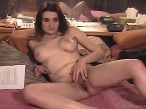 Shany Sands is not shy to display her masturbating skills to the world