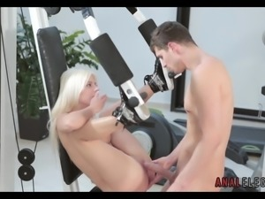 Getting Anal in the Gym
