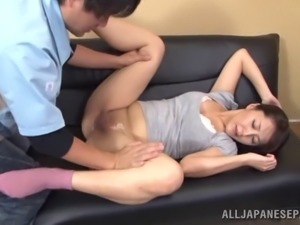 Seductive porn hottie Nao Katoh likes to get nailed hard and doggystyle