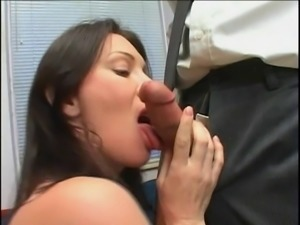 Big cock frigging her tight beaver