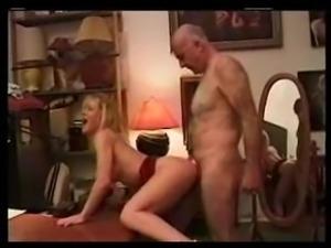 hairy older man enjoying hotty