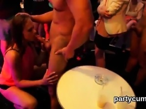 Nasty chicks get absolutely crazy and naked at hardcore part