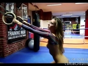 Young Russian Teen Loves Sports