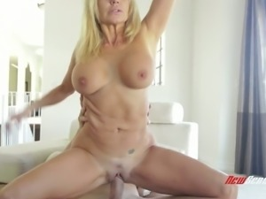 Mature whore with freckles on her body Tara Holiday is fucked by ho tempered...