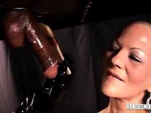 Fetish cock teasing by Handdominance
