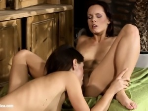 Afternoon Tryst by Sapphic Erotica - lesbian love porn with