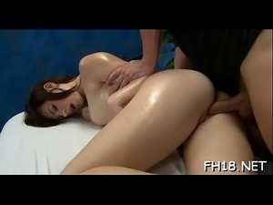 Happy ending massage clip