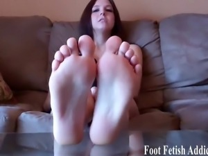 I found out about your foot fetish