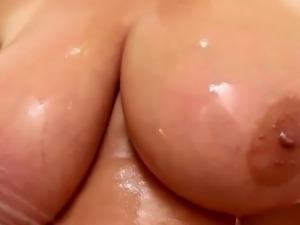 Soapy bbw boobs