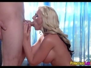 Blonde MILF gets Sloppy with this Cock