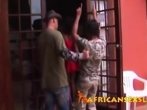 African ebony whores sucking fucking interracial