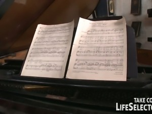 13Spoiled teen Anita Bellini wants her piano teacher to fuck her hard