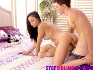 StepSiblingsCaught - Helping My Step Sister Ariana Marie Cum