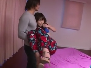 Megumi Shino bends her ass for a nasty doggy fuck