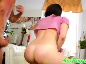 Bigass babe assfucked doggystyle