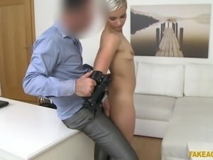 He wants to get all the angles, so he films her as he fucks her hard from...