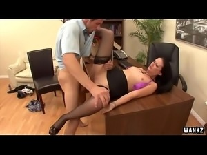 WANKZ- Hailey Young Ass Fucked In The Office
