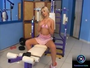 Debie White treating her dildo like her lover's dick